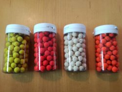 Method Mini Boilies, 9mm, mit Loch