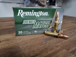 Remington Premier Match .308 Win. - 168 grain BTHP