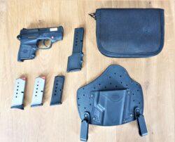 Smith & Wesson Bodyguard .380 (9mm kurz) mit Zubehör, integr. Laser
