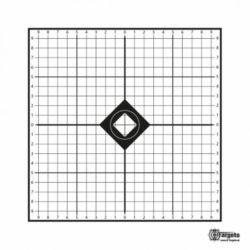 """Einschießscheibe """"MRAD Target"""" (50 Stk.)"""