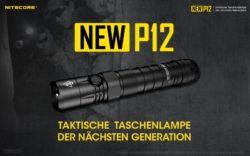 Nitecore New P12 inkl Akku