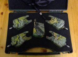 BISSANZEIGER RECEIVER CARP SPIRIT CLASSIC / 4 CSC 3 + CSC R CAMO / Camouflage!