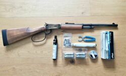 Walther Lever Action The Duke Unterhebelrepetierer UHR CO2 Set