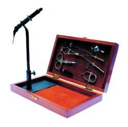 Byron Bindeset mit Standplatte in Holzkassette