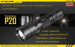 taktische Handlampe Nitecore P20