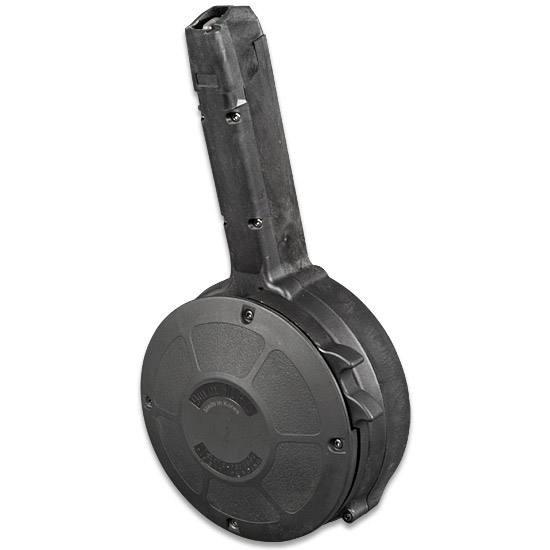 50 Schuss Trommelmagazin für Glock 17/19/26/34